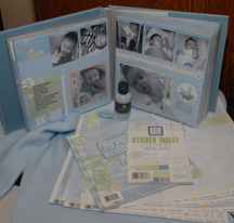 scrapbook album sample